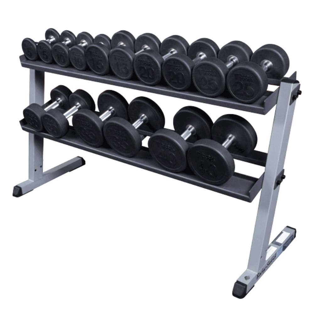 Body-Solid GDR60 Pro Dumbbell Rack With RFWS