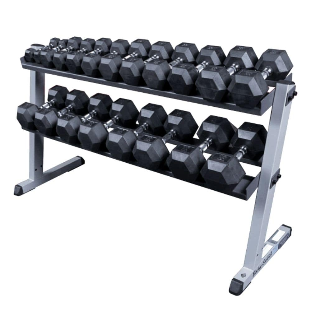 Body-Solid GDR60 Pro Dumbbell Rack With SDP