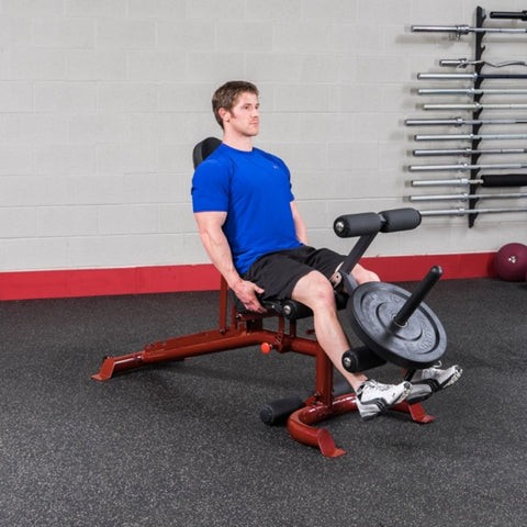 Image of Body-Solid GFID100 Flat Incline Decline Bench Exercise Figure 2