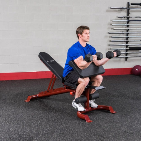 Image of Body-Solid GFID100 Flat Incline Decline Bench Exercise Figure 3