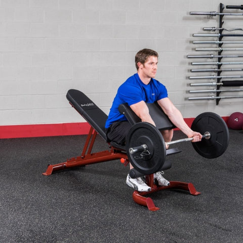 Image of Body-Solid GFID100 Flat Incline Decline Bench Exercise Figure 4