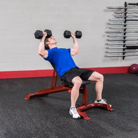 Image of Body-Solid GFID100 Flat Incline Decline Bench Exercise Figure 6