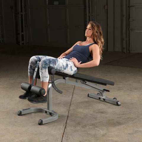 Body-Solid GFID31 Flat Incline Decline Bench Exercise Figure 4