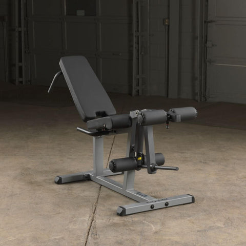 Body-Solid GLCE365 Seated Leg Extension & Supine Curl Front Side View