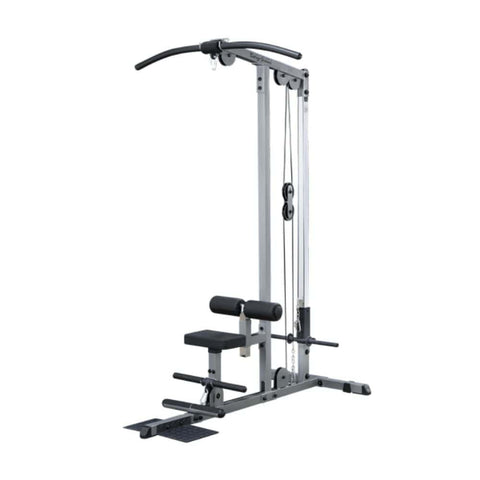 Body-Solid GLM83 Pro Lat Pulldown Low Row Machine 3D View