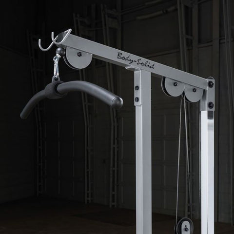Body-Solid GLM83 Pro Lat Pulldown Low Row Machine Close Up