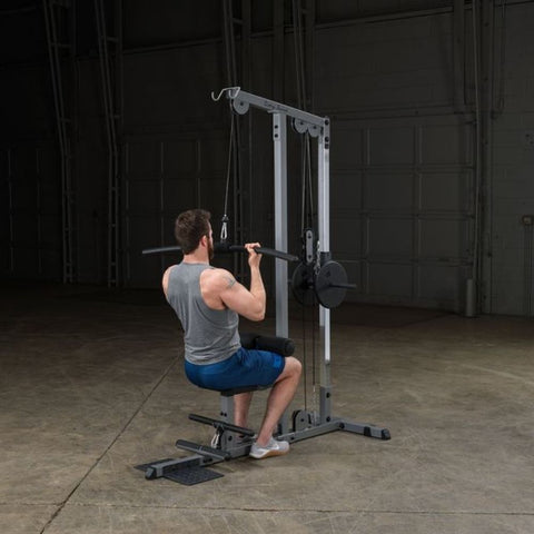 Body-Solid GLM83 Pro Lat Pulldown Low Row Machine Exercise Figure 10