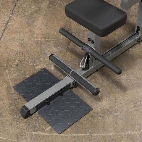 Body-Solid GLM83 Pro Lat Pulldown Low Row Machine Top View