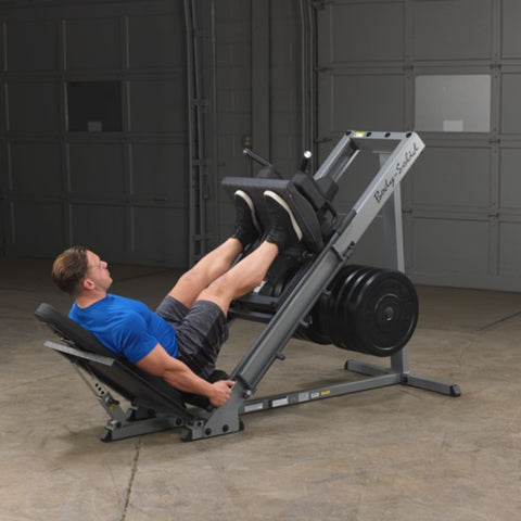 Body-Solid GLPH1100 Leg Press & Hack Squat Exercise Figure 3