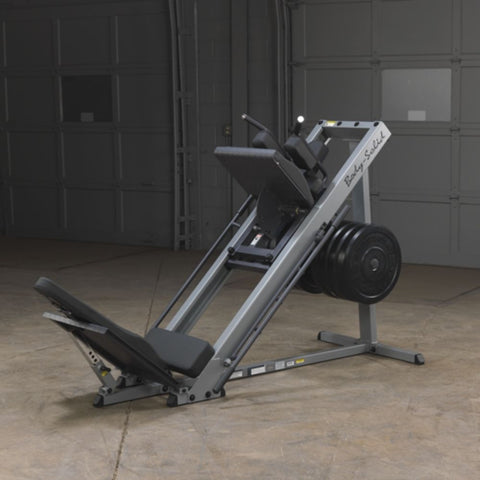 Body-Solid GLPH1100 Leg Press & Hack Squat Front Side View