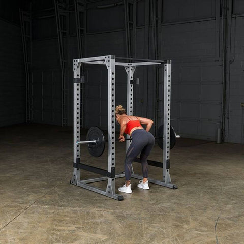 Image of Body-Solid GPR378 Pro Power Rack Dead Lift