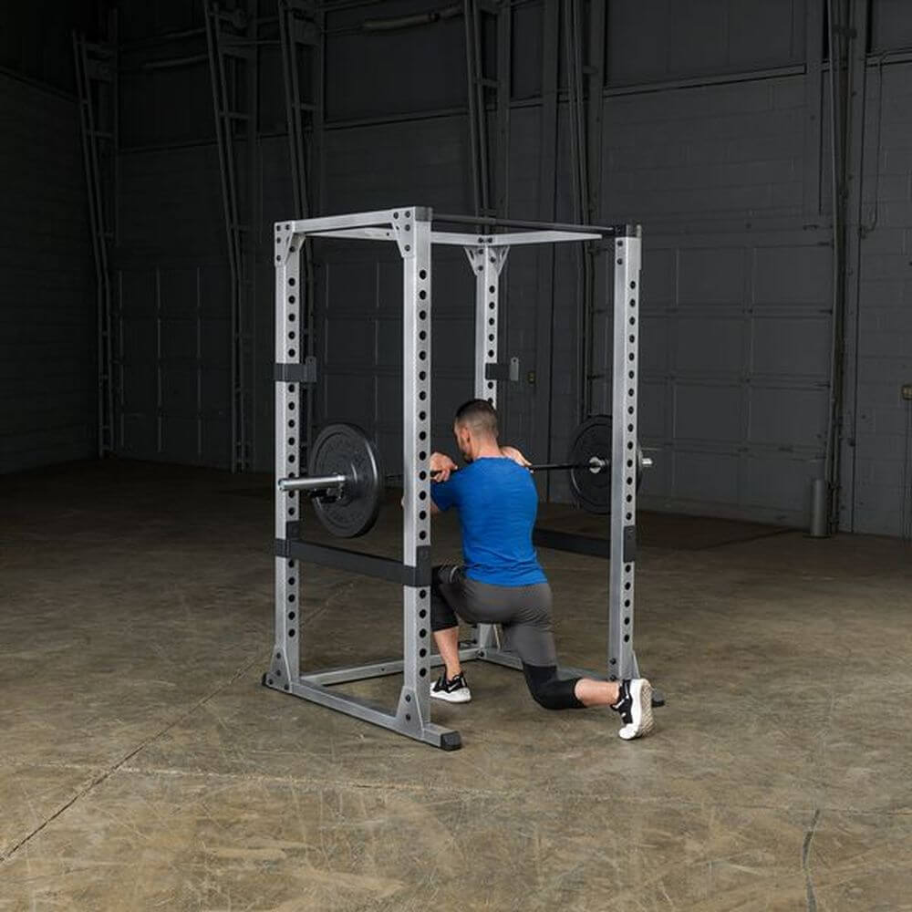 Body-Solid GPR378 Pro Power Rack Kneel