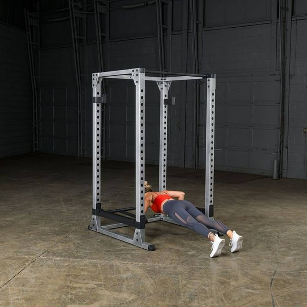 Body-Solid GPR378 Pro Power Rack Push Up