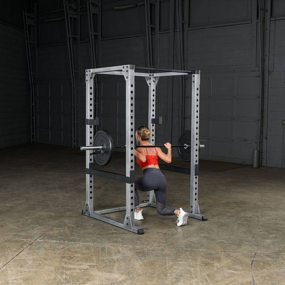 Body-Solid GPR378 Pro Power Rack Squat Leg Extend