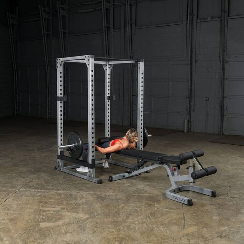 Body-Solid GPR378 Pro Power Rack With Bench
