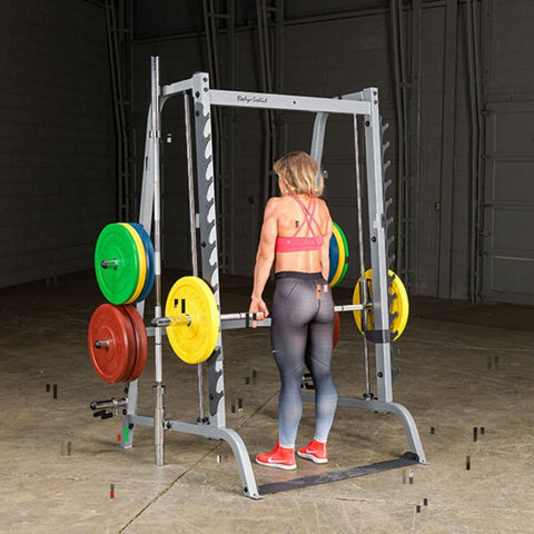 Body-Solid GS348Q Series 7 Smith Machine Deadlift