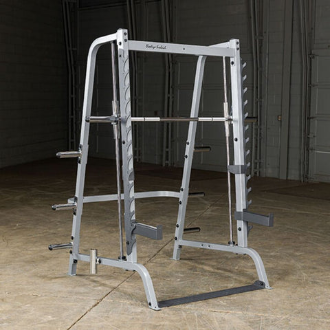 Image of Body-Solid GS348Q Series 7 Smith Machine Front Side View