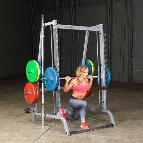 Body-Solid GS348Q Series 7 Smith Machine Kneel