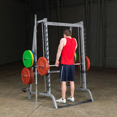 Body-Solid GS348Q Series 7 Smith Machine Standing Deadlift