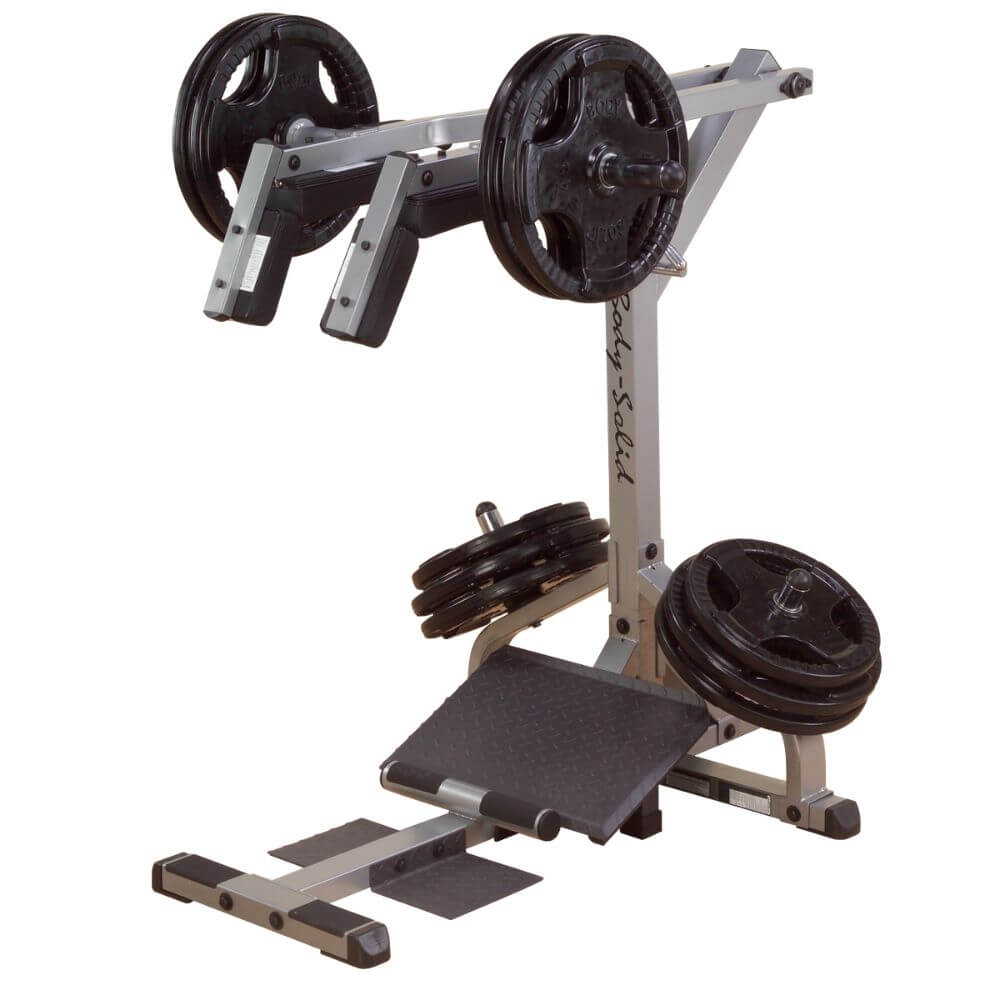 Body-Solid GSCL360 Leverage Squat Calf Machine 3D View