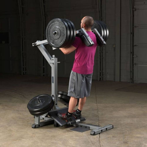 Body-Solid GSCL360 Leverage Squat Calf Machine Back View