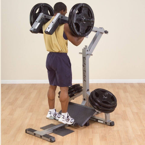 Image of Body-Solid GSCL360 Leverage Squat Calf Machine Calf Extension