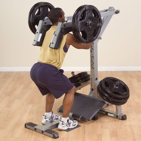 Image of Body-Solid GSCL360 Leverage Squat Calf Machine Extension Squat