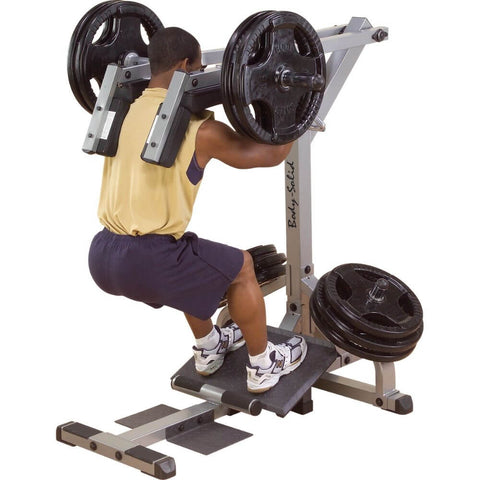 Body-Solid GSCL360 Leverage Squat Calf Machine Squat
