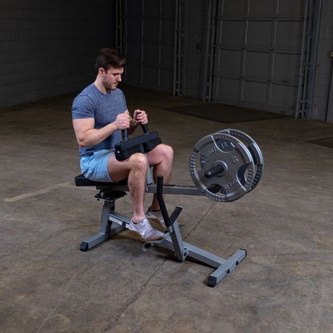 Body-Solid GSCR349 Commercial Seated Calf Raise Exercise Figure 2