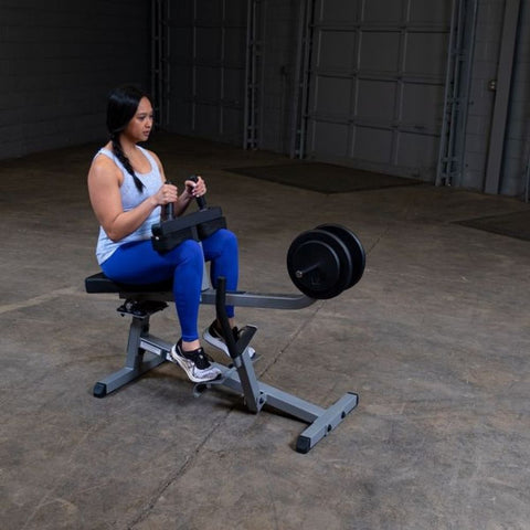 Body-Solid GSCR349 Commercial Seated Calf Raise Exercise Figure 3