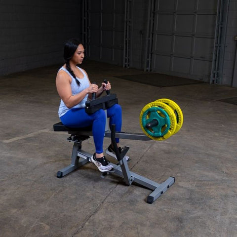 Body-Solid GSCR349 Commercial Seated Calf Raise Exercise Figure 4
