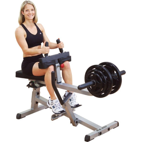 Body-Solid GSCR349 Commercial Seated Calf Raise Loaded