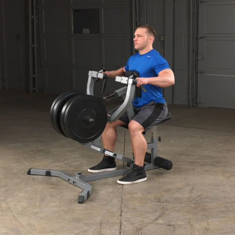 Body-Solid GSRM40 Seated Row Machine Exercise Figure 2