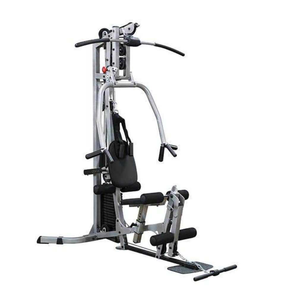 Body-Solid Powerline BSG10X Single Stack Home Gym 3D View Clean BG