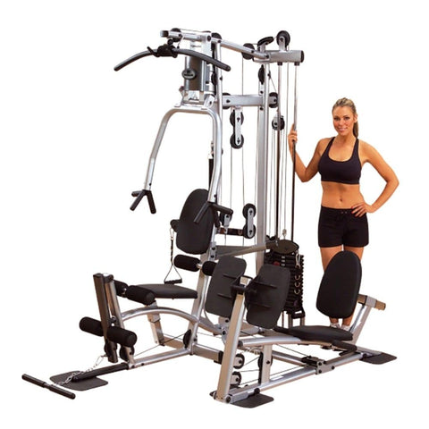 Body-Solid Powerline P2X Single Stack Home Gym 3D View With Model