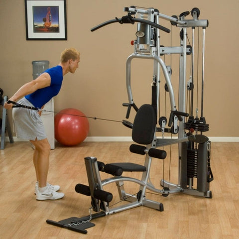 Body-Solid Powerline P2X Single Stack Home Gym Exercise Figure  1