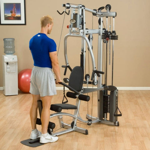 Body-Solid Powerline P2X Single Stack Home Gym Exercise Figure 2