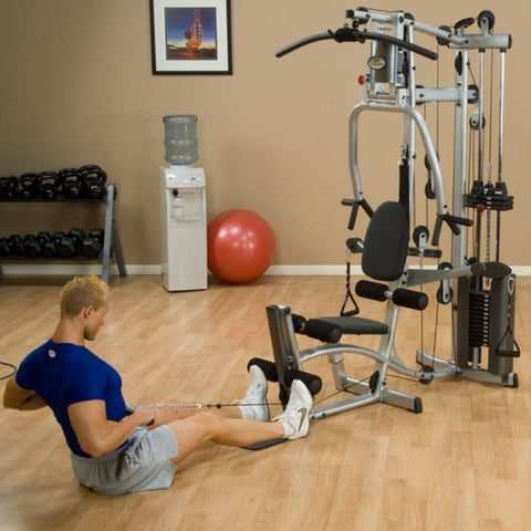 Body-Solid Powerline P2X Single Stack Home Gym Exercise Figure 3