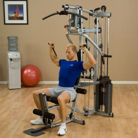Body-Solid Powerline P2X Single Stack Home Gym Exercise Figure 5