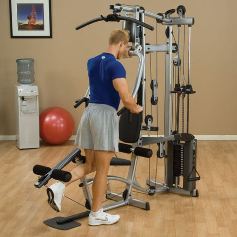 Body-Solid Powerline P2X Single Stack Home Gym Exercise Figure 6