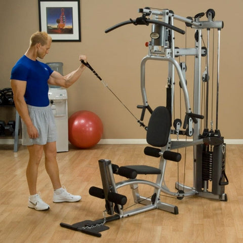 Body-Solid Powerline P2X Single Stack Home Gym Exercise Figure 7
