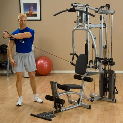Body-Solid Powerline P2X Single Stack Home Gym Exercise Figure 8