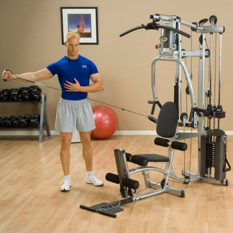 Body-Solid Powerline P2X Single Stack Home Gym Exercise Figure 9