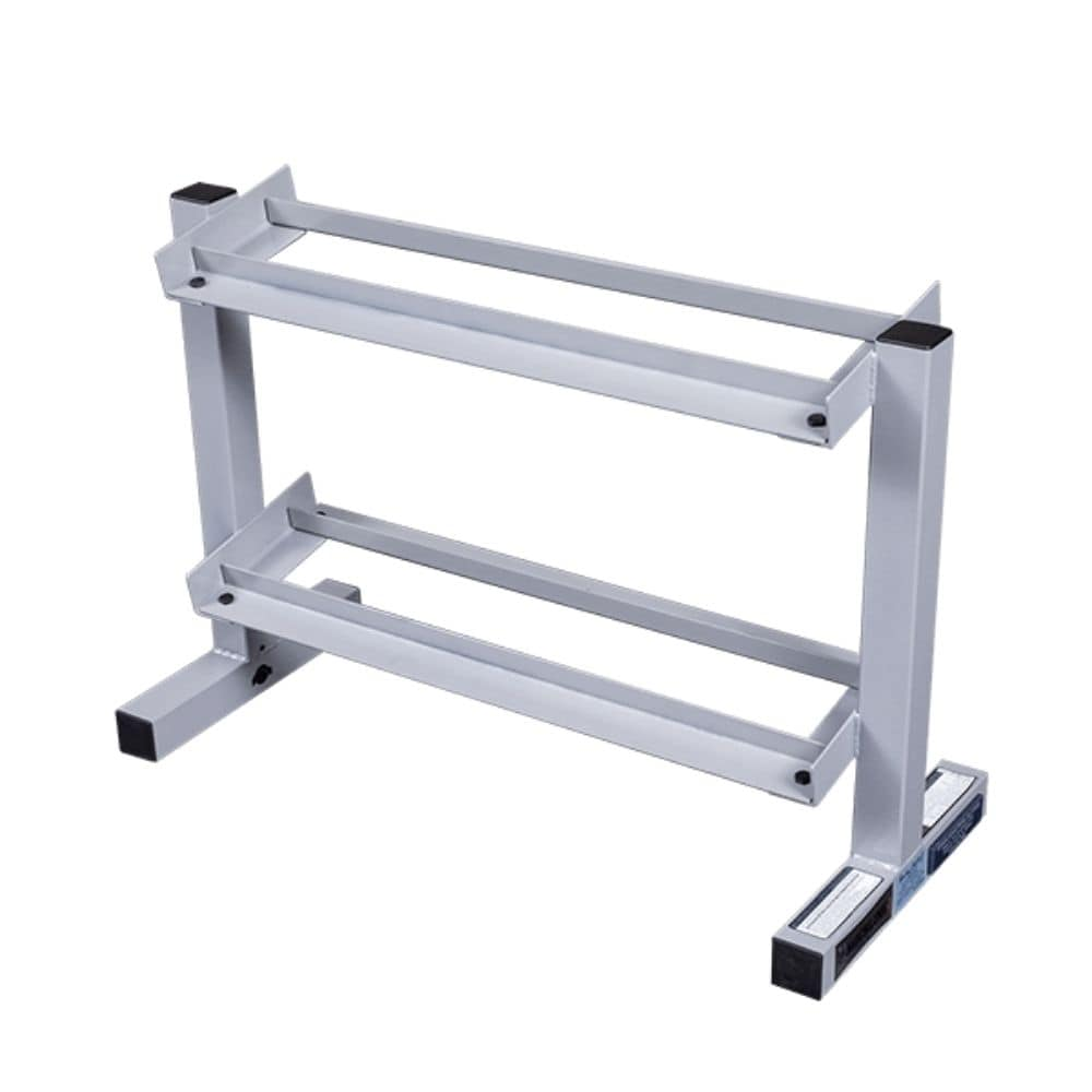 Body-Solid Powerline PDR282X Two Tier Dumbbell Rack 3D View