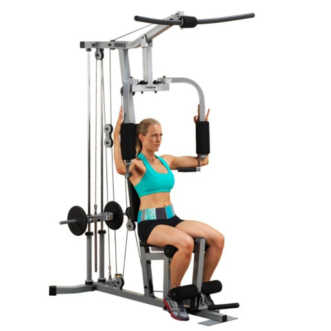Body-Solid Powerline PHG1000X Single Stack Home Gym 3D View With Model