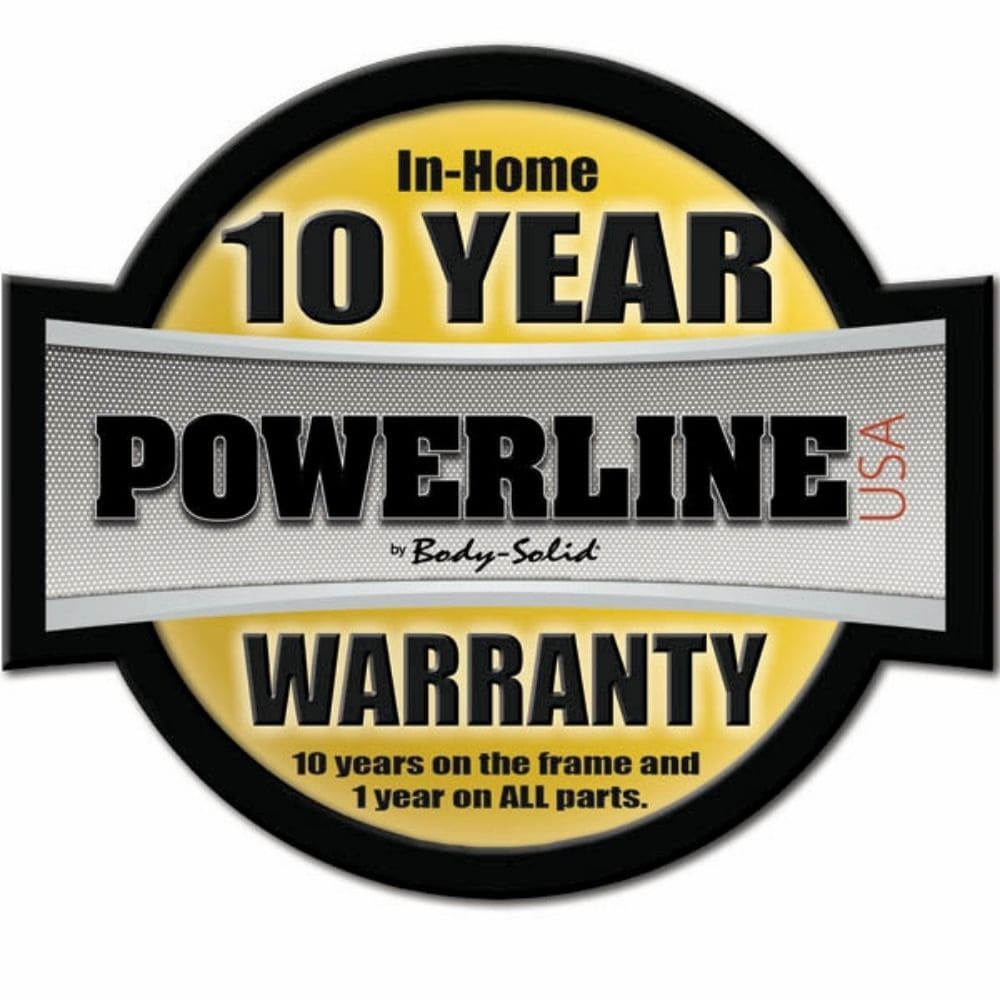 Body-Solid Powerline PLA1000 Lat Attachment Warranty-min