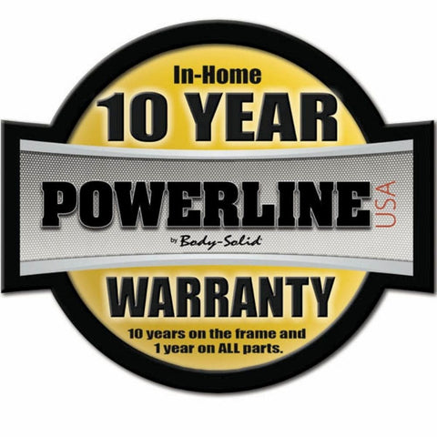 Image of Body-Solid Powerline PLA1000 Lat Attachment Warranty-min