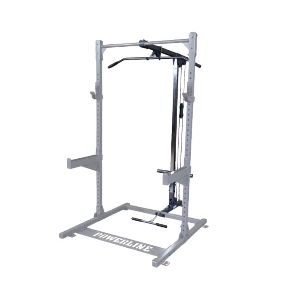 Body-Solid Powerline PLA500 Half Rack Lat Attachment 3D View
