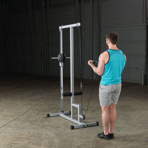 Body-Solid Powerline PLM180X Lat Pull Low Row Machine Exercise Figure 5