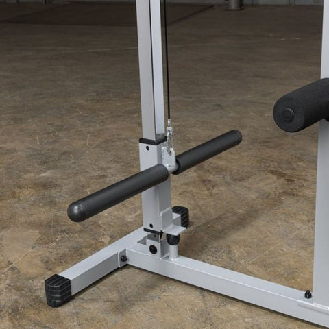 Body-Solid Powerline PLM180X Lat Pull Low Row Machine Plate Holder